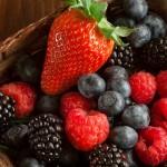 Antioxidant-rich berries